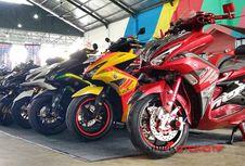 Skutik Bongsor Yamaha Adu Keren di Banjarmasin