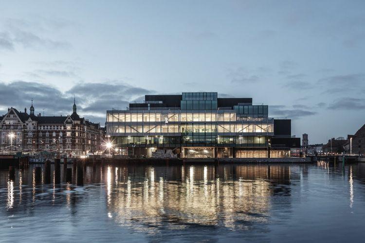 BLOX gallery in Copenhagen, Denmark.
