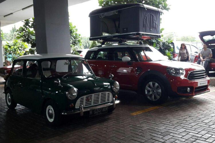 Morris Mini dan BMW Mini berbaur di acara Mini Day