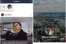 Line Punya Fitur Mirip Instagram Stories, Begini Cara Memakainya