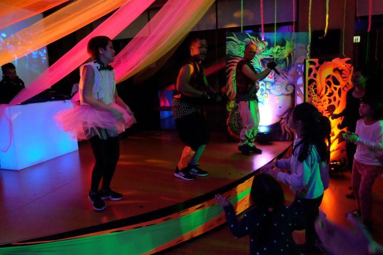 Berpesta di Club Med Sahoro, Jepang.