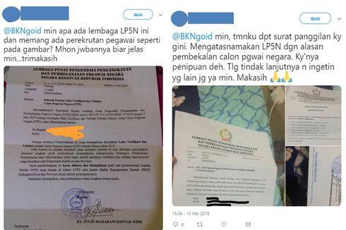 Hati-hati, Penipuan Lembaga LP5N Bermodus Terima CPNS...