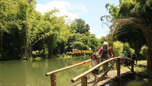 Boon Pring, Serunya Wisata Alam Bernuansa Bambu
