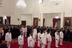Jokowi Lantik Enam Kepala Daerah