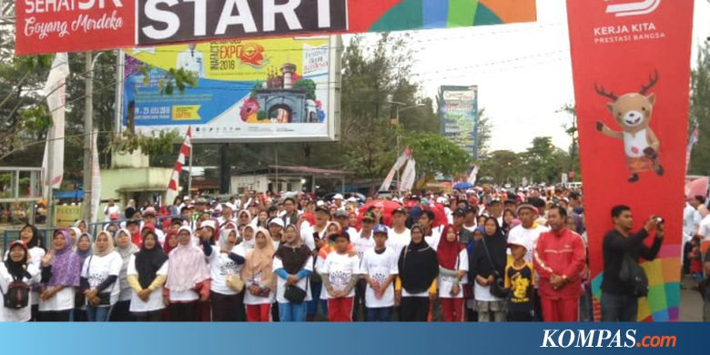 Funwalk BUMN di Bengkulu Diikuti 5.000 Peserta
