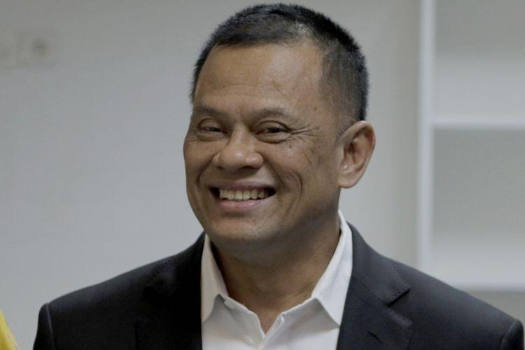 enderal TNI (Purn) Gatot Nurmantyo saat berkunjung ke kantor Redaksi Kompas.com, Menara Kompas, Jakarta, Senin (23/4/2018).(KOMPAS.com/RODERICK ADRIAN MOZES)