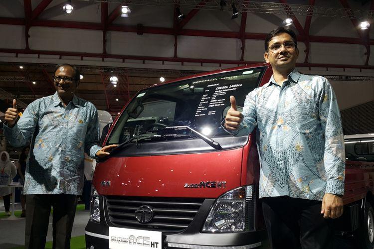 TMDI meluncurkan Tata Xenon HD dan Super Ace HT DLS, serta mini bus LPT 407.