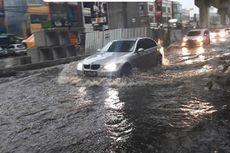 Diguyur Hujan Deras, Jalan Fatmawati Tergenang