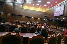 DPR Absen Saat Rekaman Video Rapat dengan KPK Diputar di MK