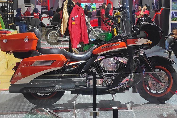 Pameran Telkomsel IIMS 2019 memperlihatkan motor-motor milik Presiden Republik Indonesia