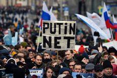 Ribuan Warga Rusia Gelar Aksi Protes Rencana Pembatasan Internet