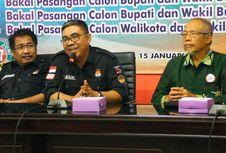 Tim Pemenangan Paslon Independen Serahkan Ribuan Dukungan ke KPU NTB