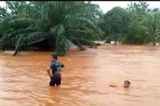Banjir Bandang Terjang Kabupaten Konawe Utara, 395 Jiwa Mengungsi