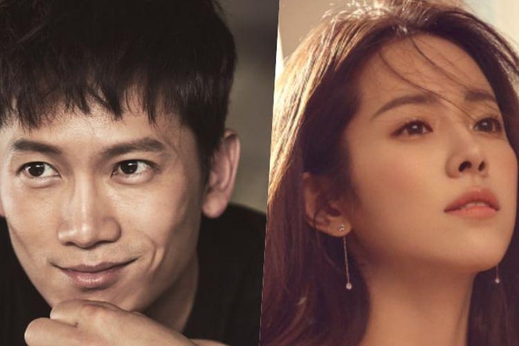 Han Ji Min dan Ji Sung berperan sebagai suami istri dalam serial drama Familiar Wife.