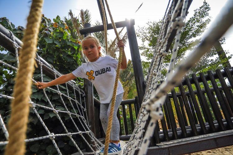 XDubai Launches Park Junior, tempat bermain luar ruang untuk anak di Dubai.(Dubai Tourism)