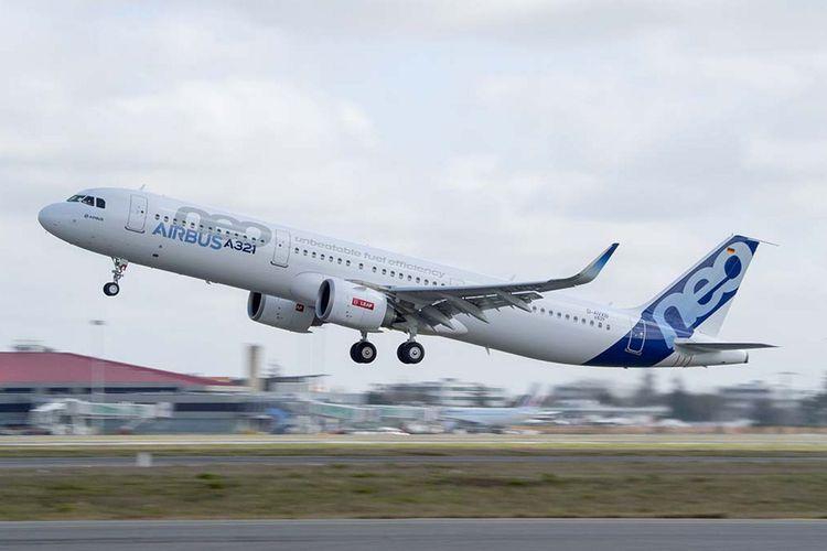 Airbus A321neo.