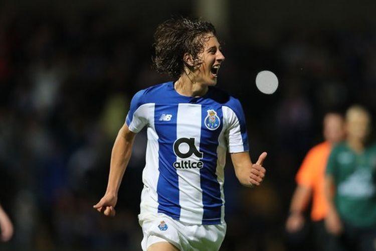 Pemain muda FC Porto dan Timnas Portugal, Fabio Silva.