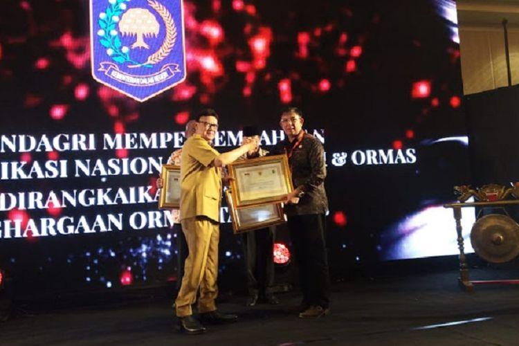 Berhasil Bina Ormas, Sulawesi Utara Terima Penghargaan dari Mendagri