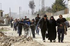 Perang Tak Kunjung Usai, Ribuan Warga Suriah Lakukan Eksodus Massal