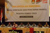 Hari Ini, Partai Politik Peserta Pemilu 2019 Ambil Nomor Urut