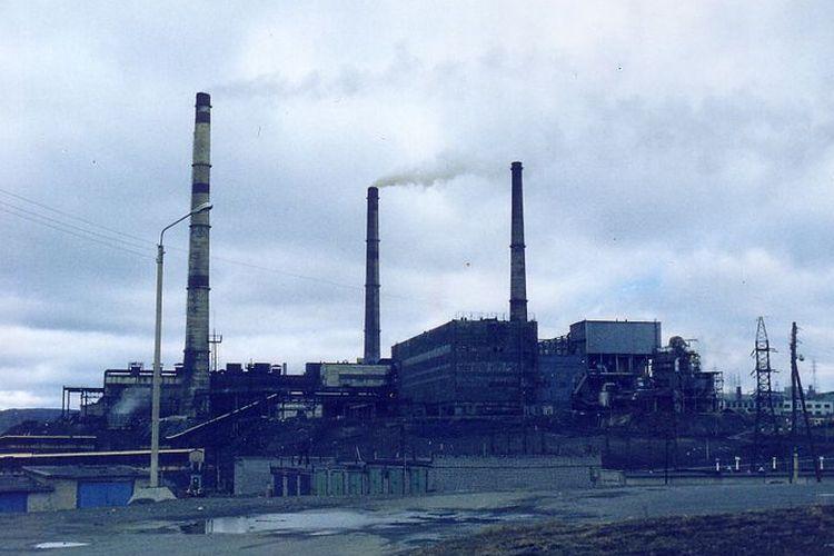 Salah satu Industri Nikel di Norilks