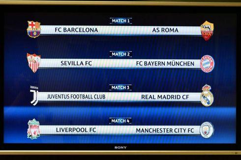 Undian Perempat Final Liga Champions, Juventus Vs Real Madrid