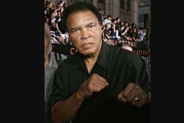 Muhammad Ali pada tahun 2004.