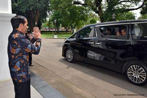 Bertemu Waketum Demokrat, Jokowi Titip Salam untuk SBY