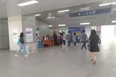 Ada Aksi Massa, MRT Jakarta Periksa Penumpang di Stasiun