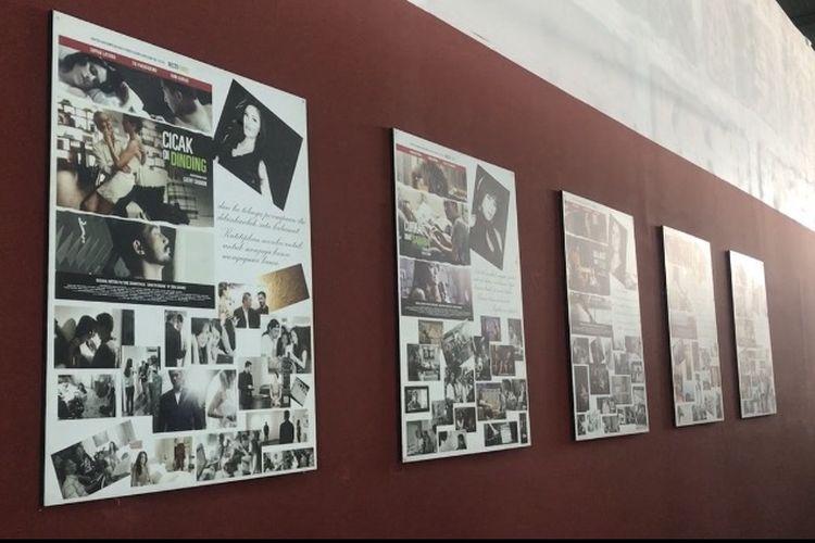 Bioskop rakyat bernama Indiskop yang terletak di lantai 3 Pasar Teluk Gong, Penjaringan, Jakarta Utara menggelar trial nonton film perdana, Jumat (5/2/2019).