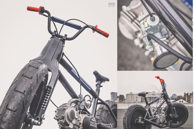 BMX bermesin 150 cc