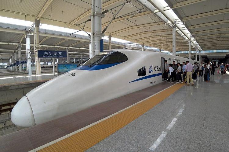 Kereta cepat China.