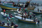 Belasan Perahu Tinggalkan Gaza Coba Terobos Blokade Israel