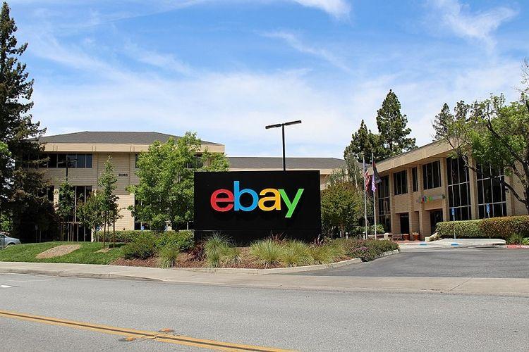 Kantor pusat eBay di San Jose, California, AS.