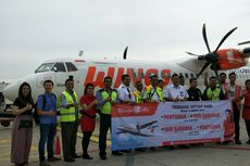 Wings Air Buka Penerbangan Pontianak-Miri Malaysia