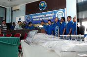 Selundupkan Sabu dalam Perut, 4 Warga Malaysia Ditangkap di Batam