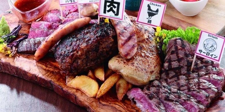 Menu di GRILL&TAPAS BAR BON?MEAT