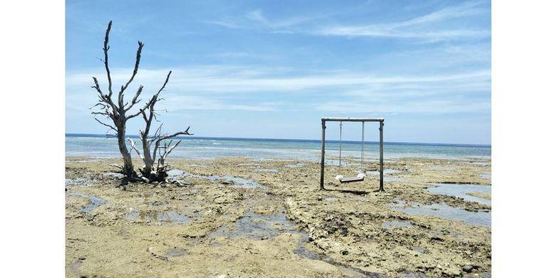 Ayunan yang ada di Pantai Menjangan, kawasan Plataran Menjangan Resort & Spa