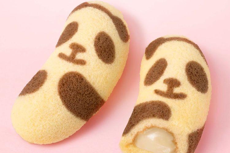 Pisang berbentuk seperti panda!