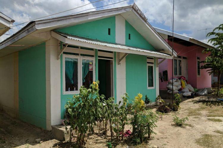 Kondisi terakhir Rumah Risha dan Rika di Petobo, Palu, Rabu (10/10/2018)
