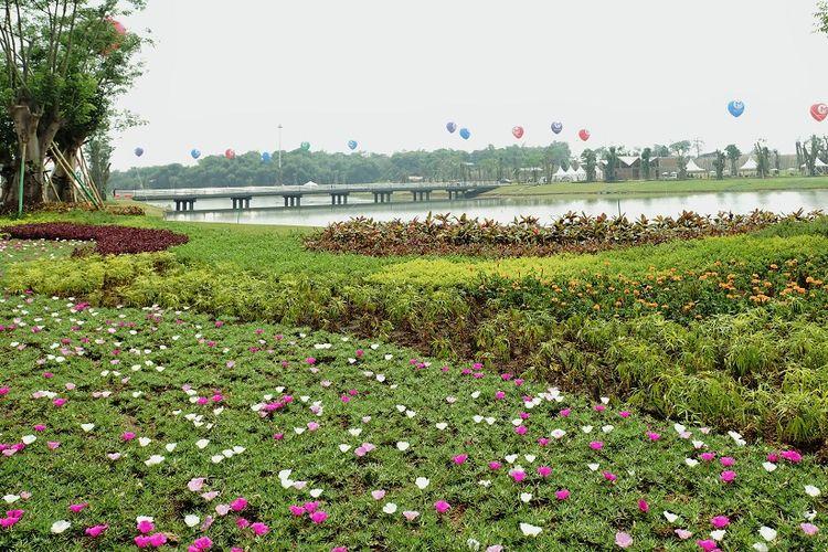 Taman kota seluas 100 hektar di kota baru Meikarta, Cikarang