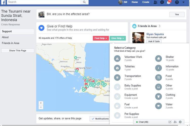 Safety Check Facebook