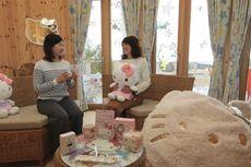 Ada Glamping Bertema Hello Kitty di Jepang