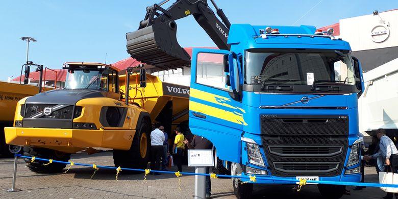Volvo Truck di Indonesia Mining 2017