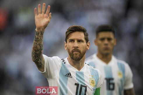 Harapan Lionel Messi di Pundak Generasi Terbaru Timnas Argentina