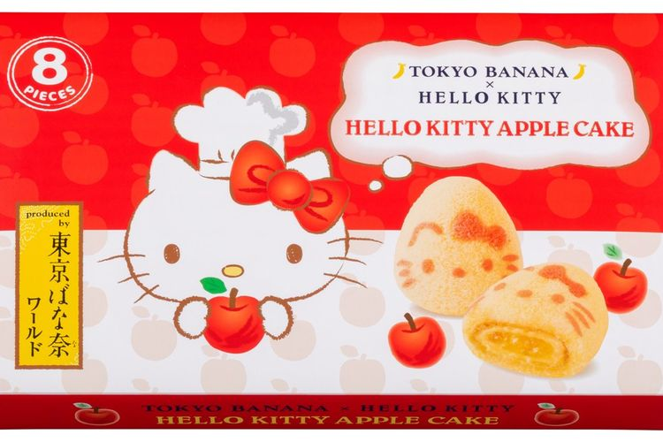 Hello Kitty Apple Cake, © 1976, 2019 SANRIO CO., LTD. APPROVAL NO. G590348