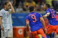 Hasil Copa America 2019, Argentina Vs Kolombia, Awal Buruk Messi dkk