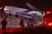 Pesawat Tua Kecelakaan saat Lepas Landas di Afrika Selatan, Satu Orang Tewas