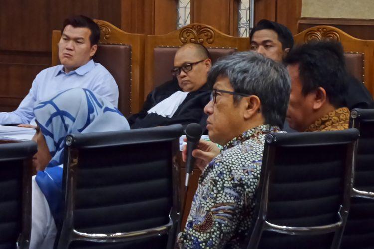 Direktur PT Quadra Solutions, Anang Sugiana Sudihardjo, di Pengadilan Tipikor Jakarta, Jumat (3/11/2017).