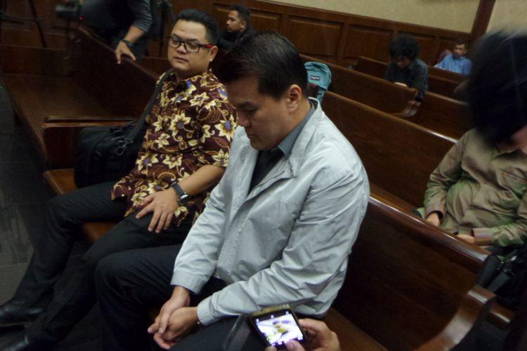 Andi Agustinus alias Andi Narogong di Pengadilan Tipikor Jakarta, Kamis (7/12/2017).